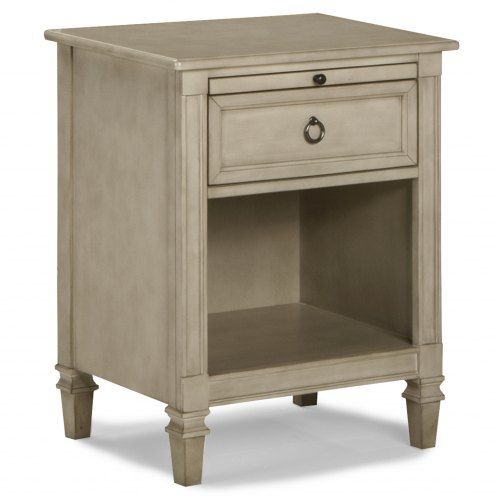 Brixy Haven Nightstand - Heather Grey