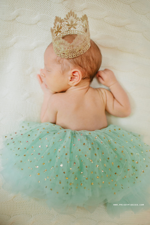 Mint Green Tutu with Sparkle