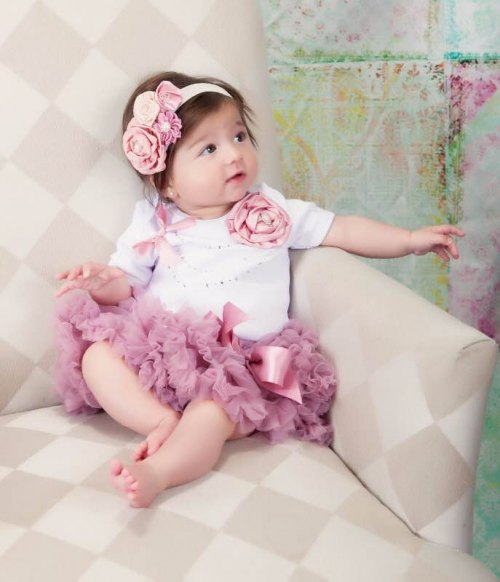 Baby Love Rose Tutu Set