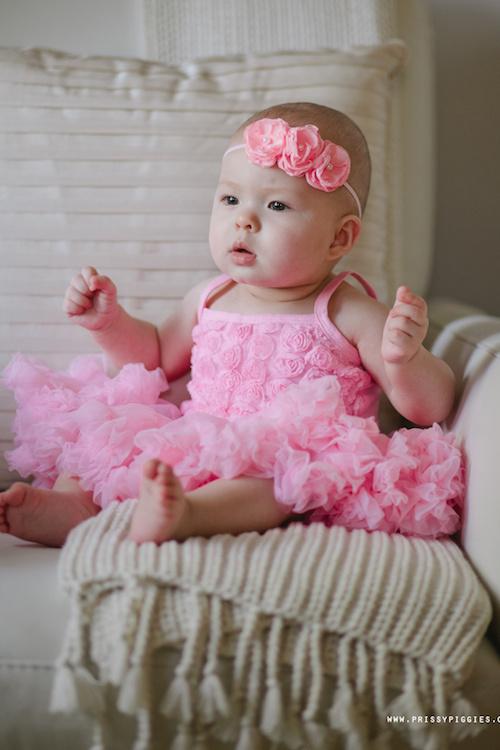 Rosette Pettidress - Light Pink