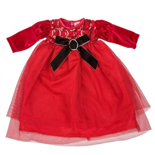 Haute Baby Tis the Season Gown