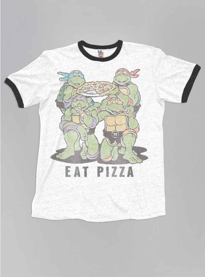 Ninja Turtles Eat Pizza Tee