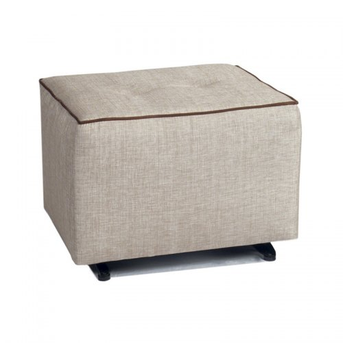 Little Castle Glider Ottoman with Buttons