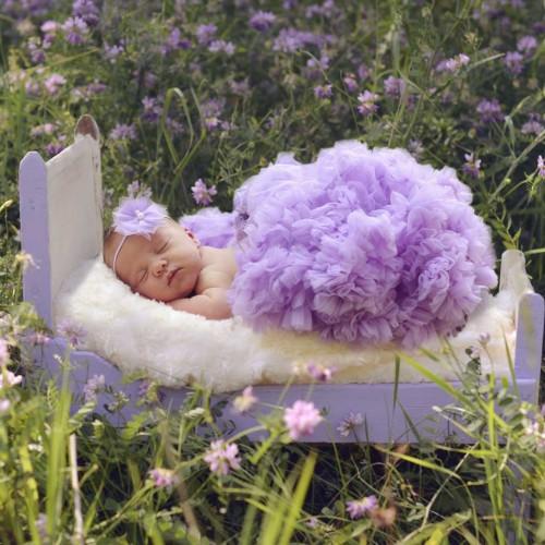 Huggalugs Lilac Newborn Pettiskirt