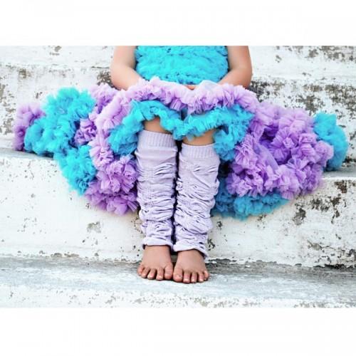 Huggalugs Lilac Turquoise Pettiskirt