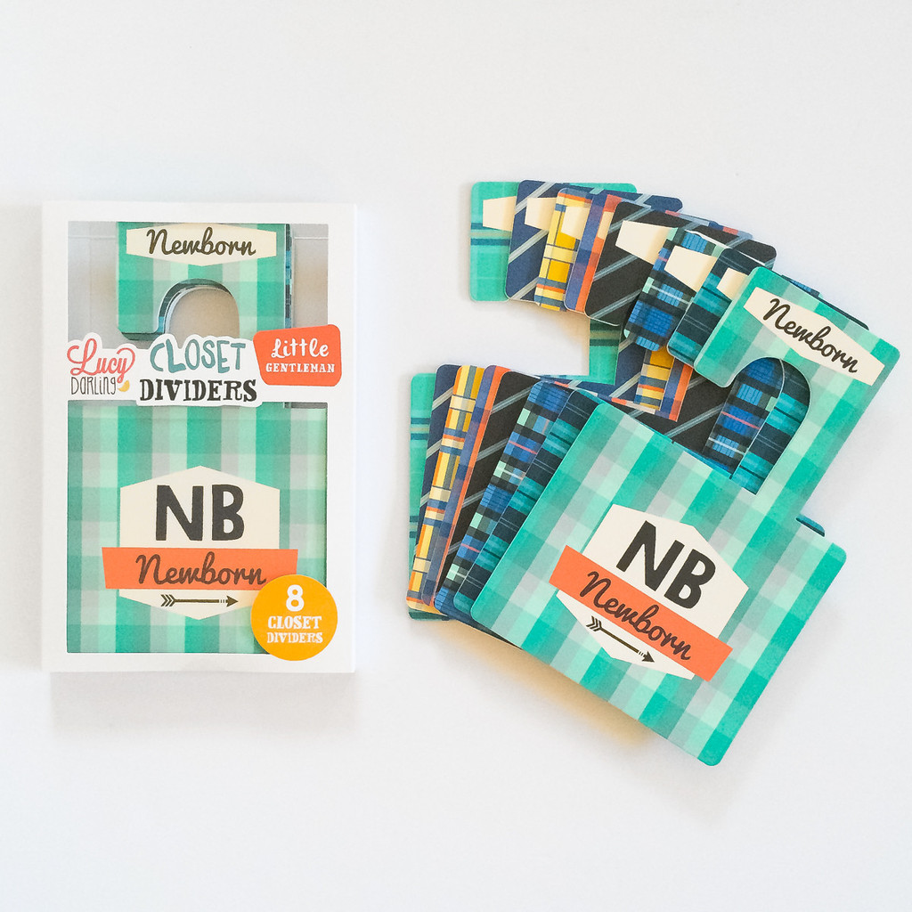 Little Gentleman Closet Divider Set