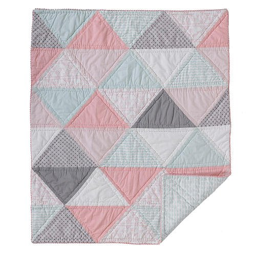 Lolli Living Cotton Filled Comforter - Triangles