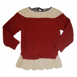 Maeli Rose Crochet Sweater