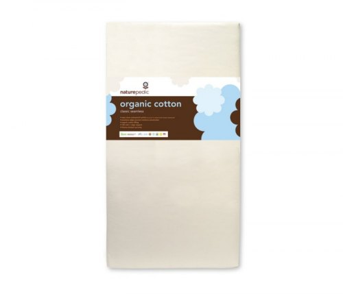 Organic Cotton Classic Seamless Crib Mattress