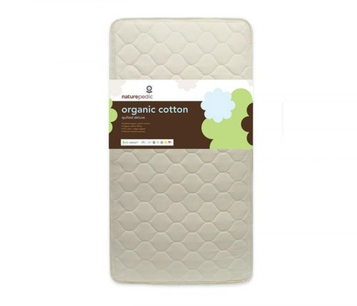 Organic Cotton Quilted Deluxe 252 Crib Mattress