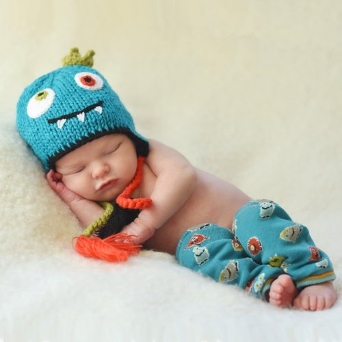 Huggalugs Little Monster Beanie