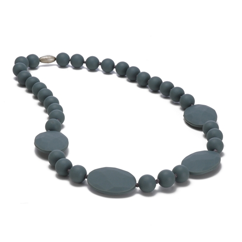 Chewbeads Perry Necklace - Stormy Grey