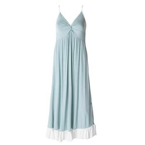 Kickee Pants Ruffle Nightgown - Jade