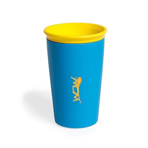 Wow cup for kids blue spill free drinking cup for kids - Cups and kids ...