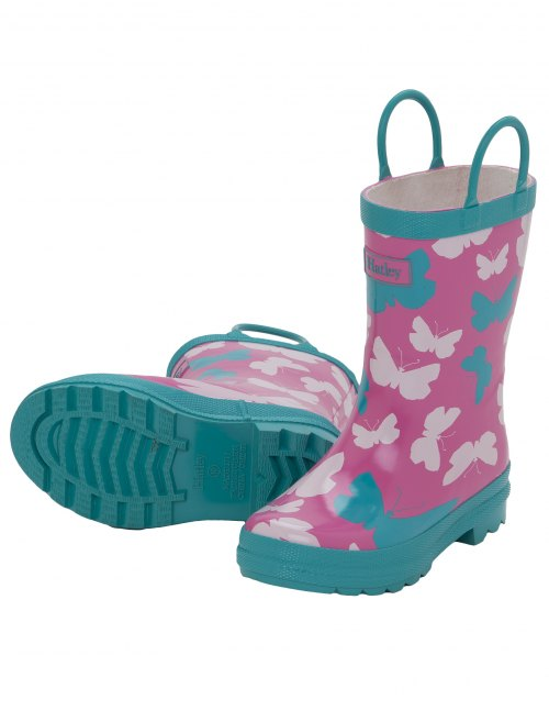 Graphic Butterflies Rainboots