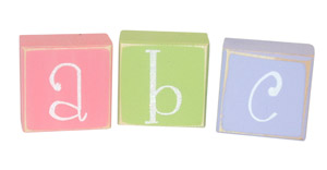 Twelve Timbers Glitter Block Letters