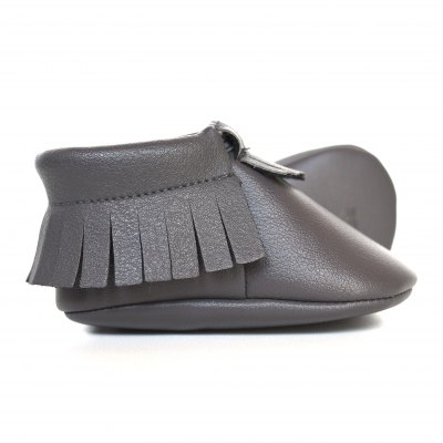 Baby Moccs - Sterling Grey