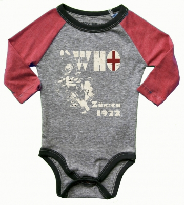 The Who Raglan Onesie