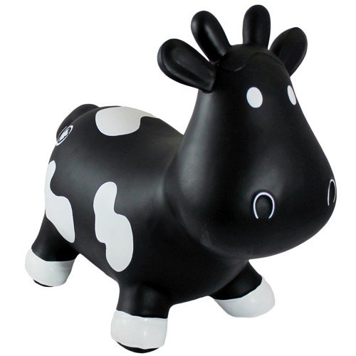 Trumpette Howdy Bouncy Cow - Black