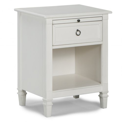 Brixy Haven Nightstand - Linen White