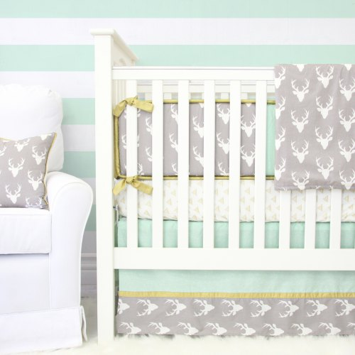 Caden Lane Woodlands Deer Baby Bedding
