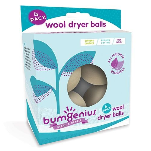 Bumgenius Wood Dryer Balls