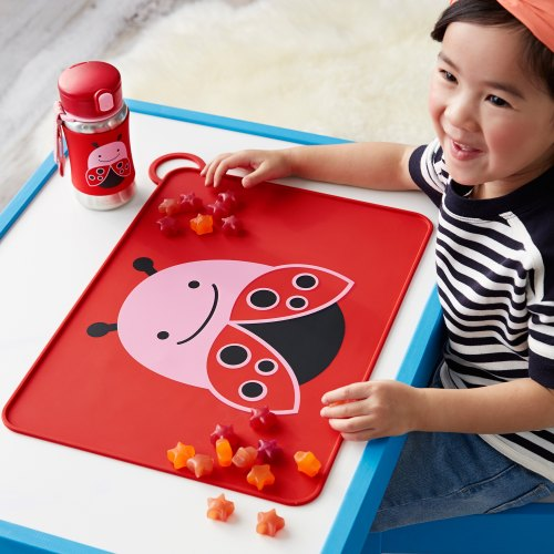 Zoo Packable Placemat - Ladybug