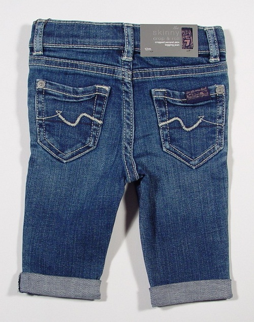 7 For All Mankind Skinny Crop Jeans