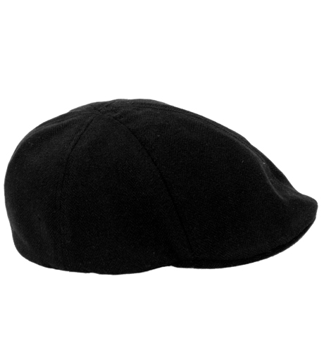 Born To Love - Black Herringbone Ivy Cap