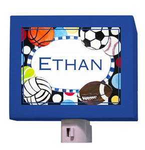 Colorful Sports Night Light