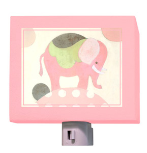 Ella Elephant Pink Night Light