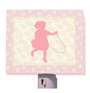 Hop Skip Girl Night Light