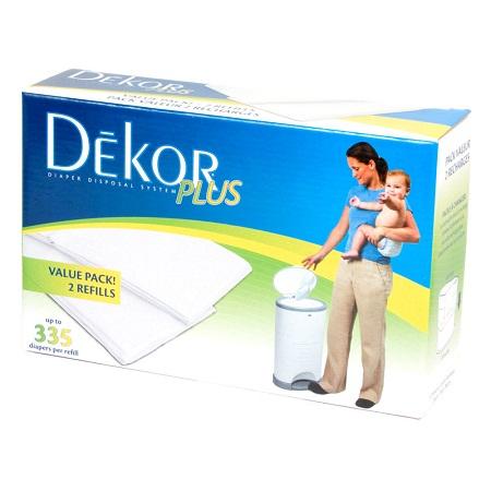 Diaper Dekor Plus Refill (2 pk)