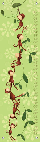 Monkeying Around Oopsy Daisy Growth Chart