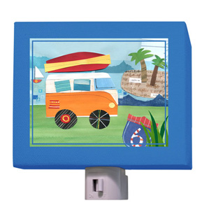 On the Road Again Beach Night Light