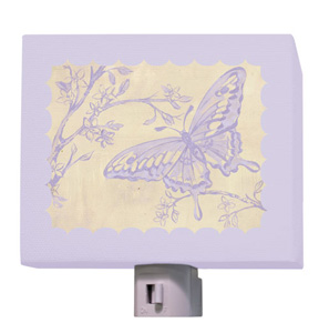 Toile Butterfly Night Light