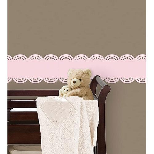 WallPops GiGi Pink Stripe