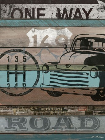 American Byways Wall Art - Truck