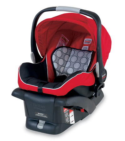 Britax B Safe Car Seat - Red
