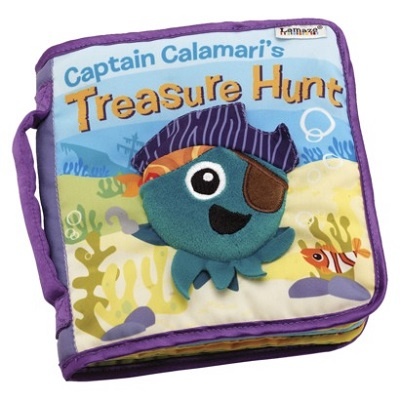 Captain Calamari Treasure Hunt Soft Book