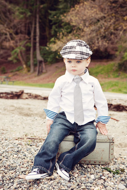 Born To Love - Black and White Plaid Ivy Cap