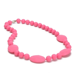 Chewbeads Perry Necklace - Punchy Pink