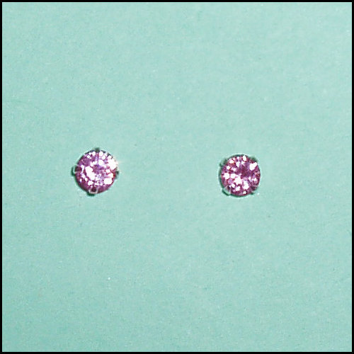CM Pink Crystal Earrings