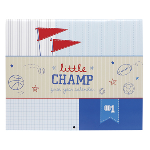 Baby's First Year Calendar - Little Champs