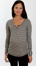 Everly Grey Jaden Long Sleeve Henley