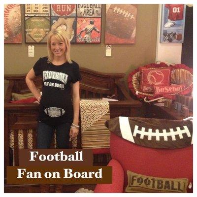 Blessence Football Fan On Board - Black