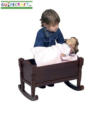 Doll Cradle- Espresso