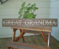 Custom Grandparents Sign (COPY)
