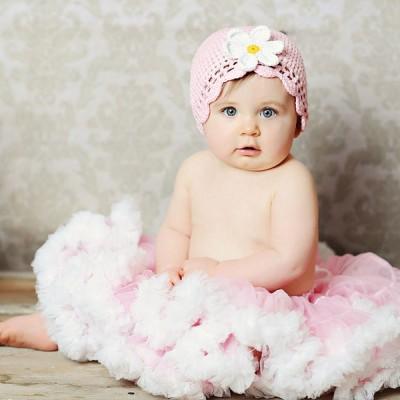 Huggalugs Light Pink & White Pettiskirt