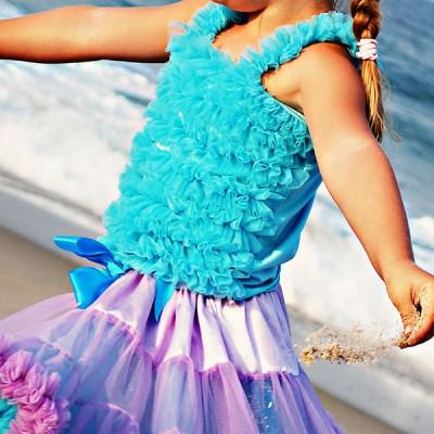 Huggalugs Turquoise Pettitop